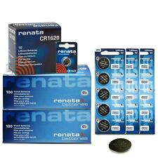 5x All Sizes Renata Watch Battery Swiss Made Silver Oxide Renata Batteries Cell