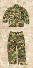 TMC Field Tactical Shirt Pants R6 Uniform Set Woodland camo for airsoft Hunting