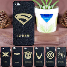 Phone Hard Back Skin Case Cover Heroes Pattern For iPhone 4/4S 5 iPhone 6 Plus