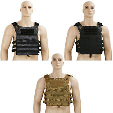 Body Armor Plate Carrier Bullet Proof Stab Ballistic Vest Overt Police Paintball