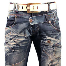K&M KOSMO LUPO MARBLE MENS JEANS DENIM ALL SIZES