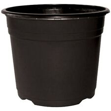 Strong Black Plastic Plant/Flower Pots in Various Sizes