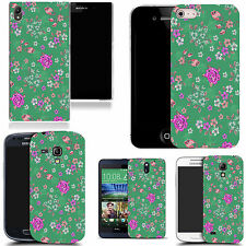 silicone gel cover for majority Mobile phones - floral culmination silicone .
