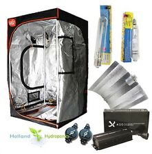 400-1000W Hydroponics Grow Tent Light Kit HPS & MH Electronic Ballast Reflector