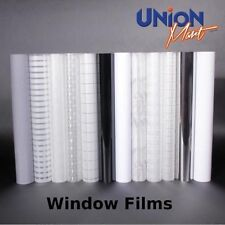 Solar Window Film - Frosted - One Way - Mirror - Tint - Privacy - Reflective =