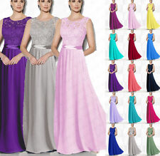 New Evening Formal Party Prom dress Bridesmaid Dresses Floor Length Size 6++++16