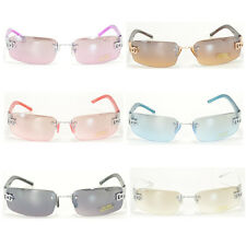 New Men Women DG Eyewear Sunglass Designer Rimless Shades Small Tint 8009