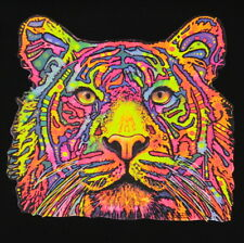Kids Tiger T-Shirt Unisex Children to Adult Cute Youth Junior boys Wild Neon