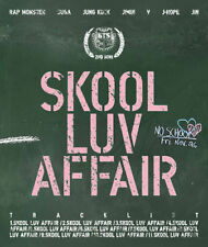 BTS 2nd Mini Album -Skool Luv Affair CD+ Photo Booklet+ Photocard KPOP Bangtan