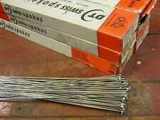 DT SWISS COMPETITION Silver Spokes 1.8/1.6mm Dbl Butted *Any Qty**Custom Length*