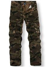Men's Camouflage Cargo Pant Military Camouflage Camo Trousers