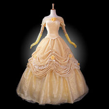 Adult Lady Southern Belle Costume Halloween Gown Ball Lolita Dress Evening Party