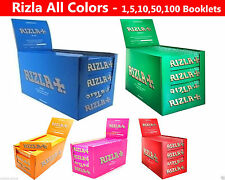 Rizla Standard Rizla Cigarette Rolling Papers All Colors -1,5,20,50,100 BOOKLETS