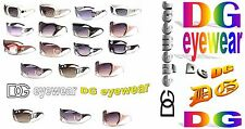 Women Vintage, rhinestone, fancy, celebrity, fashion style DG sunglasses in mult