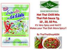 Hot!! Thailand Chilli Mix Thai Fish Sauce 7g. for Cooking & Dip (HALA)