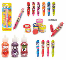 Kids SCENTOS STATIONARY CRAFT SET Scented Pencil Toy Party Bag Filler School