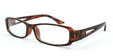Eye-Zoom Brown Tortoise Frame Rectangle Classic Readers Fashion Reading Glasses