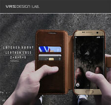 Verus Dandy Soft PU Leather Wallet Diary Cover For Samsung Galaxy S7 Edge Case