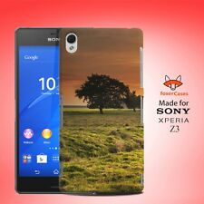 Cute Tree in Sunset Case Cover for Sony Xperia