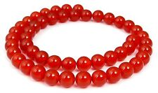 Carnelian beautiful red Balls in 4, 6, 8 oder 10 mm Gemstone Beads Strand