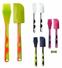 Standard Quality Silicone Cake Baking Glazing Pastry Brush Rubber Spatula BBQ