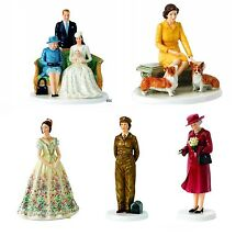Royal Doulton Queens Figurines BRAND NEW IN BOX