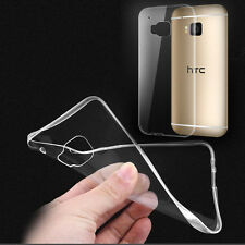 Ultra Thin Clear Soft Silicone TPU Case Skin Cover Skin For HTC Phones