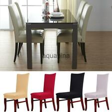 Paddy Short Dining Room Stool Chair Seat Cover Wedding Decor Slipcover Rhombus