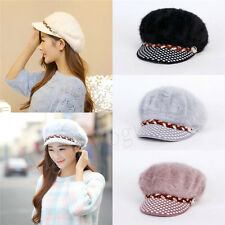 Hot Womens Ladies Winter Warm Knitted Crochet Slouch Baggy Beanie Hat Cap 147