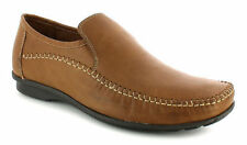 AIRSOFT HAPPY TAN LEATHER LOAFERS