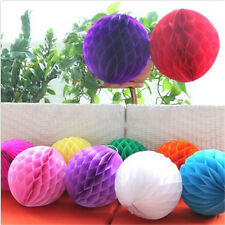 1XColorful Well Honeycomb Ball Paper Lanterns Wedding Birthday Party Decorations