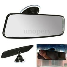 Universal 200mm Car Truck Wide Flat Interior Rear View Mirror Suction Rearview