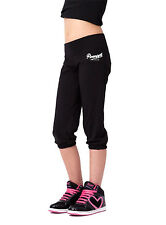 PINEAPPLE DANCEWEAR Girls Dancers Crop Pants Black With Pineapple Logo