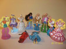McDonald's Happy Meal Barbie Doll toys