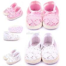 Baby Infant Kid Girl Soft Sole Crib Toddler Newborn Casual Anti-slip Shoes 0-18M