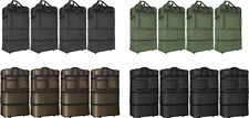 Pack of 4 Expandable Upright Wheeled Rolling Duffel Bag Spinner Suitcase Luggage