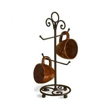 Home Counter Coffee Cup Storage Arm Stand Countertop Hook Mug Tree Holder Rack