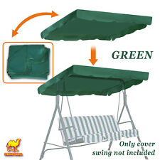 "Patio Outdoor 77""x43"" Swing Canopy Replacement Porch Top Cover Seat Furniture"