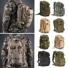 30L Military Tactical Backpack Rucksack Camping Hiking Trekking Shoulder Bag Pac