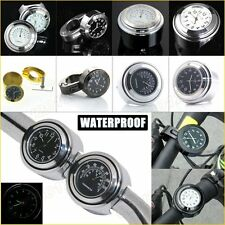 "Waterproof Alloy Watch/Thermometer/Clock 7/8""-1"" Motorcycle Handlebar Lever Rod"