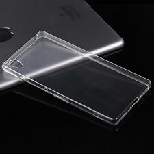 Soft Transparent Silicone Clear Case Cover Skin For Sony Xperia series M2 AQUA
