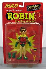 DC Direct MAD Magazine Alfred E Neuman Robin Just Us League Action Figure - NEW