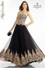Alyce 6596 Evening Dress ~LOWEST PRICE GUARANTEED~ NEW Authentic Gown