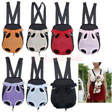 Pet Puppy Dog Cat Backpack Front Tote Carrier Travel Net Tote Bag 11Color 4 Size
