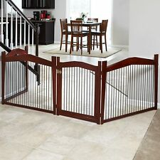 Merry Products 2-in-1 Configurable Pet Gate and Crate