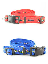 Dog Training Leash & Collar Cute Print Rope Pet Puppy Long Strap Durable Buckle