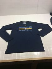Memphis Grizzlies LONG SLEEVE SHIRT POLYESTER CLIMALITE ADIDAS NEW A1175