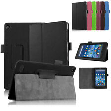 "For Amazon 2015 Kindle Fire 7 7""inch 5th Gen Folio PU Leather Cover Stand Case"