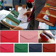 Credit ID Card Holder Travel Passport Ticket Container Purse Wallet Bag