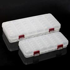 6 Compartments 30 boxes Storage Box Bead Organizer Display Containers Case